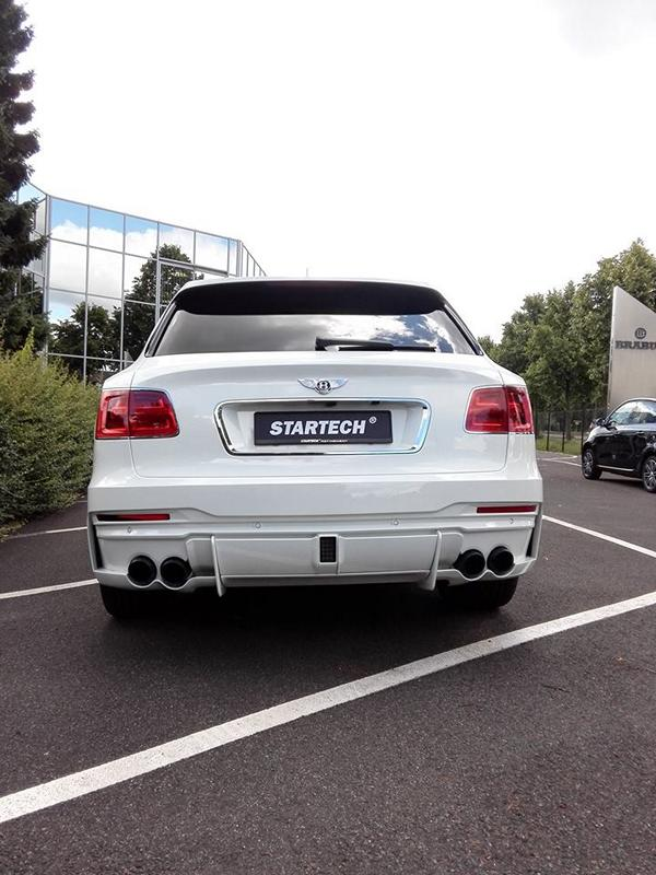 Startech Bentley Bentayga Bodykit Tuning 1 STARTECH Widebody Kit für das neue Bentley Bentayga SUV