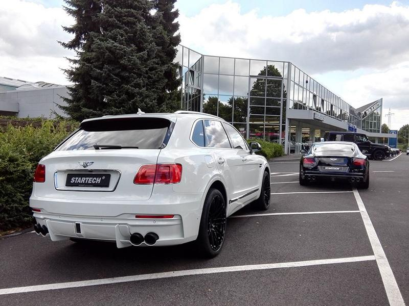 Startech Bentley Bentayga Bodykit Tuning 5 STARTECH Widebody Kit für das neue Bentley Bentayga SUV