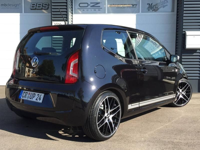 TVW Car Design VW Up 17 Zoll BBS ST Suspensions Tuning 4 TVW Car Design   VW Up auf 17 Zoll BBS & ST Suspensions