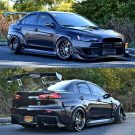 Tuning BBS Mitsubishi Evolution Lancer Widebody Turbo Gewinde EVO 15 135x135 Fotostory: Über 1.500 Mitsubishi Evolution Tuning Bilder