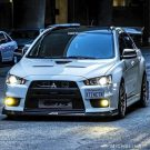 Tuning BBS Mitsubishi Evolution Lancer Widebody Turbo Gewinde EVO 1528 135x135 Fotostory: Über 1.500 Mitsubishi Evolution Tuning Bilder
