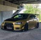 Tuning BBS Mitsubishi Evolution Lancer Widebody Turbo Gewinde EVO 1534 135x131 Fotostory: Über 1.500 Mitsubishi Evolution Tuning Bilder