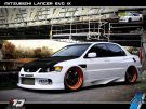 Tuning BBS Mitsubishi Evolution Lancer Widebody Turbo Gewinde EVO 1574 135x101 Fotostory: Über 1.500 Mitsubishi Evolution Tuning Bilder