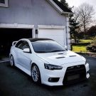 Tuning BBS Mitsubishi Evolution Lancer Widebody Turbo Gewinde EVO 1583 135x135 Fotostory: Über 1.500 Mitsubishi Evolution Tuning Bilder