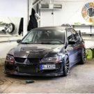 Tuning BBS Mitsubishi Evolution Lancer Widebody Turbo Gewinde EVO 307 135x135 Fotostory: Über 1.500 Mitsubishi Evolution Tuning Bilder