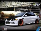 Tuning BBS Mitsubishi Evolution Lancer Widebody Turbo Gewinde EVO 344 135x101 Fotostory: Über 1.500 Mitsubishi Evolution Tuning Bilder