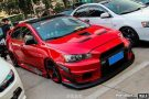 Tuning BBS Mitsubishi Evolution Lancer Widebody Turbo Gewinde EVO 351 135x90 Fotostory: Über 1.500 Mitsubishi Evolution Tuning Bilder