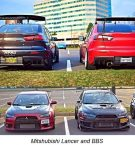 Tuning BBS Mitsubishi Evolution Lancer Widebody Turbo Gewinde EVO 379 135x145 Fotostory: Über 1.500 Mitsubishi Evolution Tuning Bilder