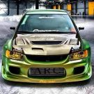 Tuning BBS Mitsubishi Evolution Lancer Widebody Turbo Gewinde EVO 96 135x135 Fotostory: Über 1.500 Mitsubishi Evolution Tuning Bilder