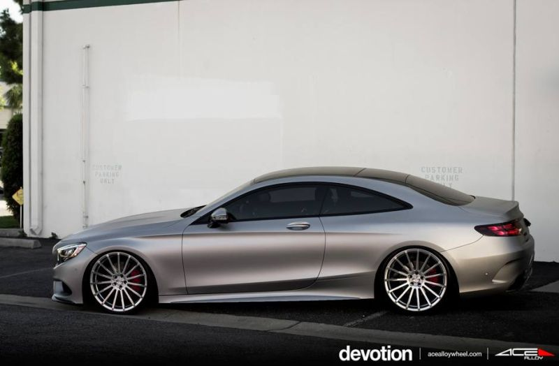 Tuning Mercedes Benz S63 AMG C217 W222 ACE Alloy Alufelgen 1 Perfekt   Mercedes Benz S63 AMG auf ACE Alloy Alu's