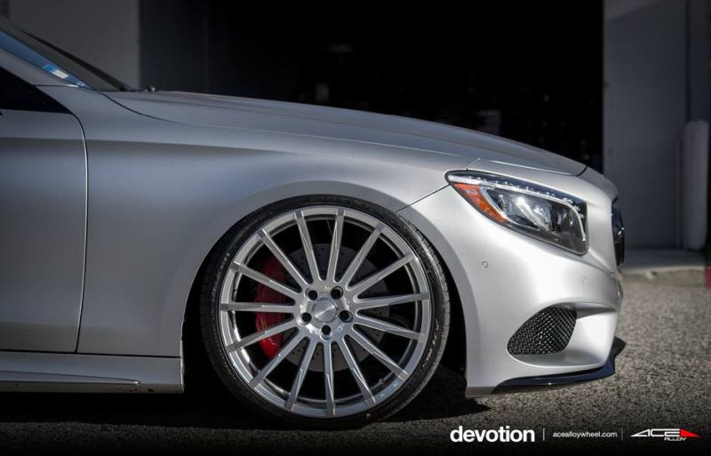 Tuning Mercedes Benz S63 AMG C217 W222 ACE Alloy Alufelgen 2 Perfekt   Mercedes Benz S63 AMG auf ACE Alloy Alu's