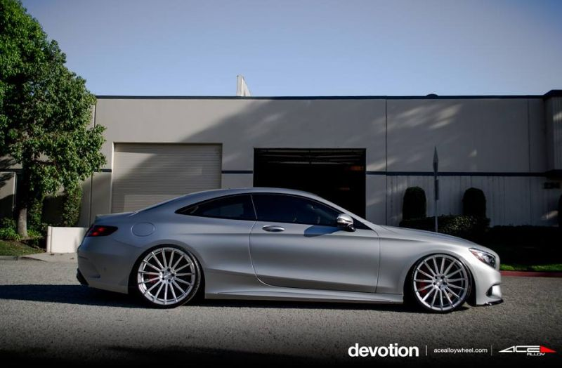 Tuning Mercedes Benz S63 AMG C217 W222 ACE Alloy Alufelgen 3 Perfekt   Mercedes Benz S63 AMG auf ACE Alloy Alu's