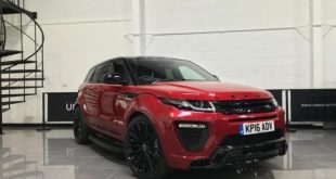 Urban Automotive Range Rover Evoque 2016 Tuning Bodykit 1 1 e1468923838675 310x165 Dezentes SUV   Urban Automotive Range Rover Evoque