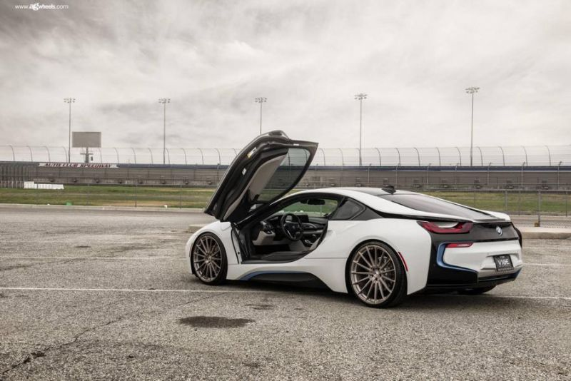 Vibe Motorsports Bmw I8 On 22 Inch Alloy Wheels M615 Ag