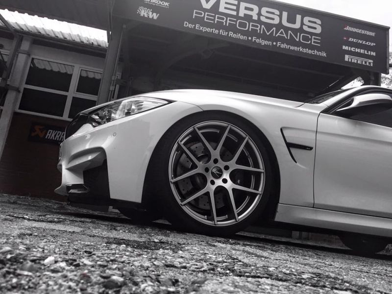 Versus Performance BMW M3 F80 540PS Chiptuning Z Performance 2 Versus Performance BMW M3 F80 mit 540PS & 20 Zöllern