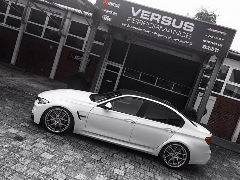 Versus Performance BMW M3 F80 540PS Chiptuning Z Performance 4 Versus Performance BMW M3 F80 mit 540PS & 20 Zöllern