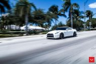 Vossen Wheels VFS 5 white Nissan GT R Black Edition Tuning VFS5 4 190x127 Vossen Wheels VFS 5 am weißen Nissan GT R Black Edition