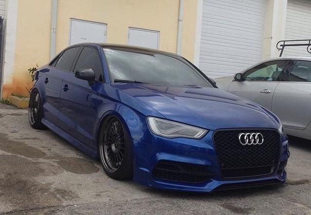 Widebody Audi A3 RS3 tuningblog.eu 1 Fett   Audi A3 S3 Limousine als Widebody Version auf Rotiforms