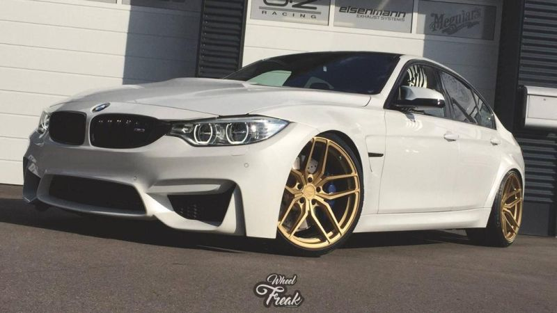 ZP2.1 Z Performance Wheels Tuning BMW M3 F80 in Wei%C3%9F 1 ZP2.1 Z Performance Wheels am BMW M3 F80 in Weiß