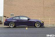 iND Distribution BMW M4 F82 Coupe Purple Tuning BBS KW Carbon 1 190x127 Fotostory: überarbeitet   iND Distribution BMW M4 F82 Coupe
