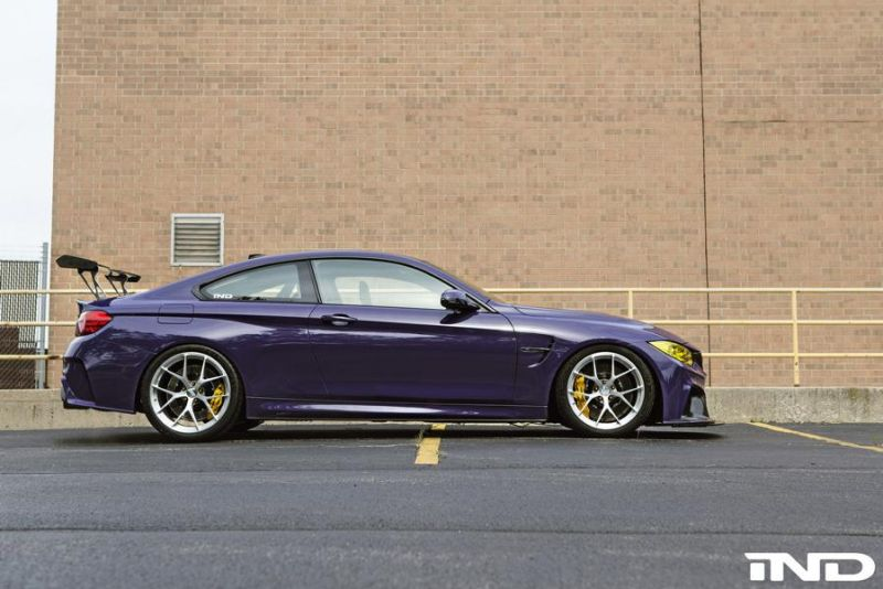 iND Distribution BMW M4 F82 Coupe Purple Tuning BBS KW Carbon 1 Fotostory: überarbeitet   iND Distribution BMW M4 F82 Coupe