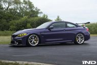 iND Distribution BMW M4 F82 Coupe Purple Tuning BBS KW Carbon 10 190x127 Fotostory: überarbeitet   iND Distribution BMW M4 F82 Coupe