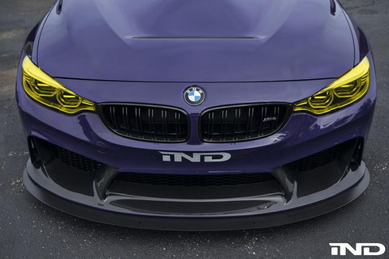 iND Distribution BMW M4 F82 Coupe Purple Tuning BBS KW Carbon (12)