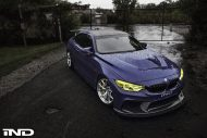 iND Distribution BMW M4 F82 Coupe Purple Tuning BBS KW Carbon 2 1 190x127 Fotostory: überarbeitet   iND Distribution BMW M4 F82 Coupe