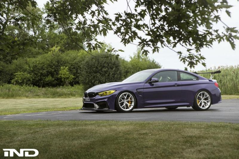 iND Distribution BMW M4 F82 Coupe Purple Tuning BBS KW Carbon 3 Fotostory: überarbeitet   iND Distribution BMW M4 F82 Coupe