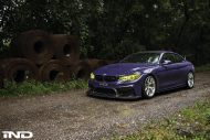 iND Distribution BMW M4 F82 Coupe Purple Tuning BBS KW Carbon 4 1 190x127 Fotostory: überarbeitet   iND Distribution BMW M4 F82 Coupe