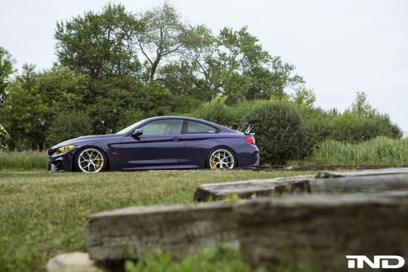 iND Distribution BMW M4 F82 Coupe Purple Tuning BBS KW Carbon (6)