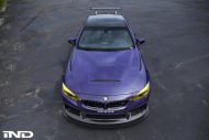 iND Distribution BMW M4 F82 Coupe Purple Tuning BBS KW Carbon 8 190x127 Fotostory: überarbeitet   iND Distribution BMW M4 F82 Coupe