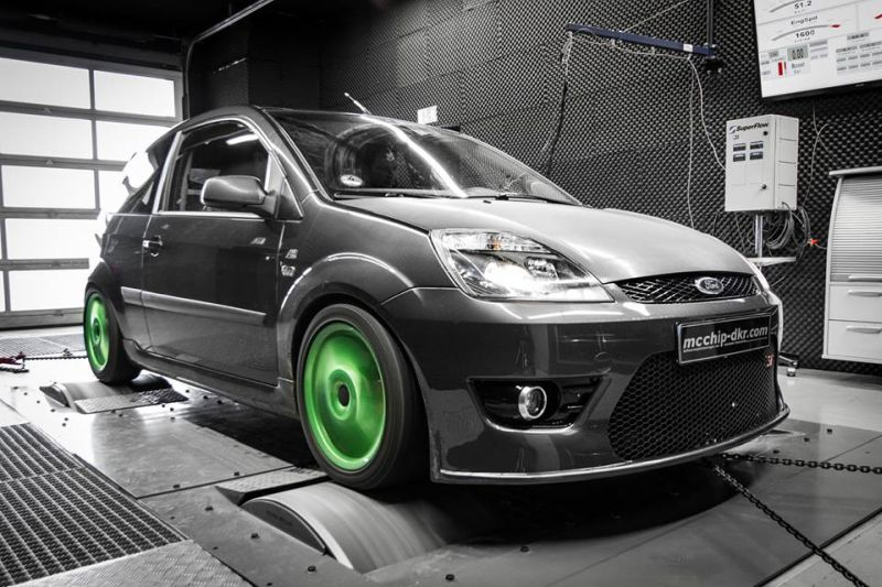 117PS 255Nm Mcchip DKR Ford Fiesta 1.6 TDCI Chiptuning 1 117PS / 255Nm im Mcchip DKR Ford Fiesta 1.6 TDCI