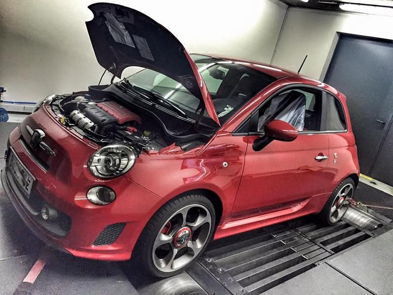 184PS 321NM Pogea Racing Abarth 595 turismo Chiptuning 1 184PS & 321NM im Pogea Racing Abarth 595 turismo