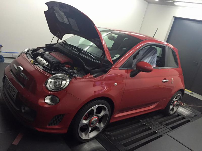 184PS 321NM Pogea Racing Abarth 595 turismo Chiptuning 4 184PS & 321NM im Pogea Racing Abarth 595 turismo