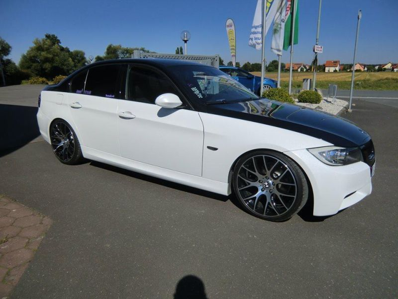 19 zoll xtra wheels sw5 kw fahrwerk bmw e90 tuning extreme. Black Bedroom Furniture Sets. Home Design Ideas