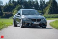 20 Zoll Vossen VFS 1 BMW M2 F87 Coupe Tuning 11 190x127 20 Zoll Vossen VFS 1 Felgen am neuen BMW M2 F87 Coupe