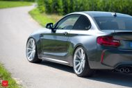 20 Zoll Vossen VFS 1 BMW M2 F87 Coupe Tuning 14 190x127 20 Zoll Vossen VFS 1 Felgen am neuen BMW M2 F87 Coupe