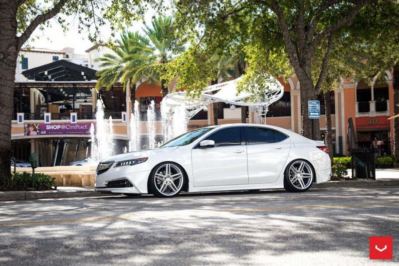 20 Zoll Vossen VFS 5 Wheels Tuning Acura TLX Wei%C3%9F 1 20 Zoll Vossen VFS 5 Wheels am Acura TLX in Weiß