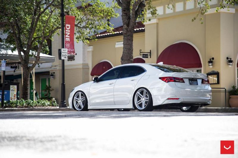 20 Zoll Vossen VFS 5 Wheels Tuning Acura TLX Wei%C3%9F 2 20 Zoll Vossen VFS 5 Wheels am Acura TLX in Weiß