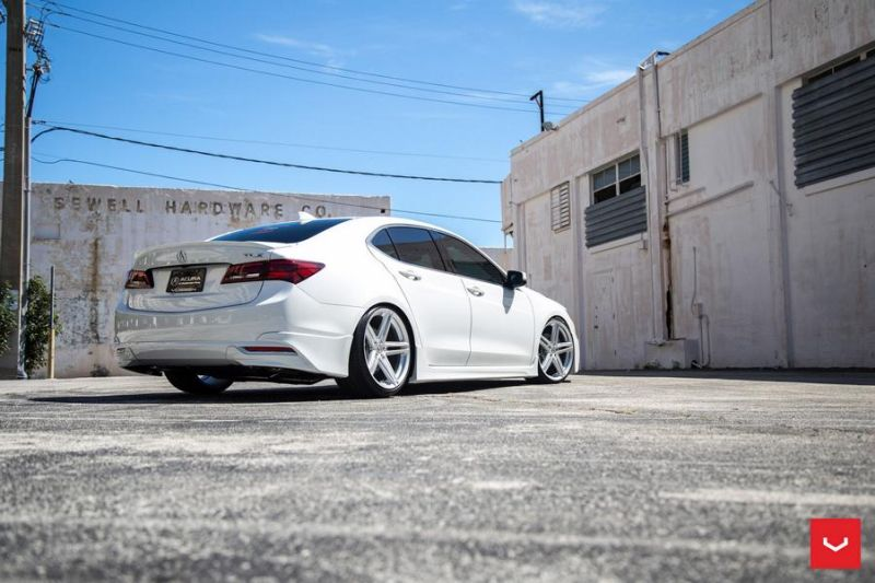 20 Zoll Vossen VFS 5 Wheels Tuning Acura TLX Wei%C3%9F 4 20 Zoll Vossen VFS 5 Wheels am Acura TLX in Weiß