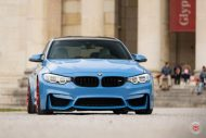 20 Zoll Vossen VPS 314T Alu's Tuning BMW F80 M3 in Yas Marina Blau 2016 14 190x127 20 Zoll Vossen VPS 314T Alu's am BMW F80 M3 in Yas Marina Blau