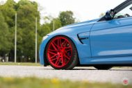 20 Zoll Vossen VPS 314T Alu's Tuning BMW F80 M3 in Yas Marina Blau 2016 16 190x127 20 Zoll Vossen VPS 314T Alu's am BMW F80 M3 in Yas Marina Blau