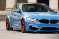 20 Zoll Vossen VPS 314T Alu's Tuning BMW F80 M3 in Yas Marina Blau 2016 2 190x127 20 Zoll Vossen VPS 314T Alu's am BMW F80 M3 in Yas Marina Blau