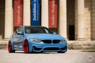 20 Zoll Vossen VPS 314T Alu's Tuning BMW F80 M3 in Yas Marina Blau 2016 35 190x127 20 Zoll Vossen VPS 314T Alu's am BMW F80 M3 in Yas Marina Blau