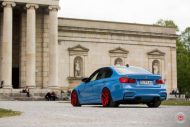 20 Zoll Vossen VPS 314T Alu's Tuning BMW F80 M3 in Yas Marina Blau 2016 4 190x127 20 Zoll Vossen VPS 314T Alu's am BMW F80 M3 in Yas Marina Blau