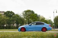 20 Zoll Vossen VPS 314T Alu's Tuning BMW F80 M3 in Yas Marina Blau 2016 53 190x127 20 Zoll Vossen VPS 314T Alu's am BMW F80 M3 in Yas Marina Blau