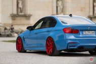 20 Zoll Vossen VPS 314T Alu's Tuning BMW F80 M3 in Yas Marina Blau 2016 6 190x127 20 Zoll Vossen VPS 314T Alu's am BMW F80 M3 in Yas Marina Blau