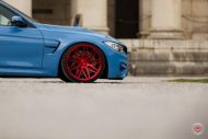 20 Zoll Vossen VPS 314T Alu's Tuning BMW F80 M3 in Yas Marina Blau 2016 63 190x127 20 Zoll Vossen VPS 314T Alu's am BMW F80 M3 in Yas Marina Blau