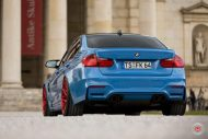 20 Zoll Vossen VPS 314T Alu's Tuning BMW F80 M3 in Yas Marina Blau 2016 7 190x127 20 Zoll Vossen VPS 314T Alu's am BMW F80 M3 in Yas Marina Blau